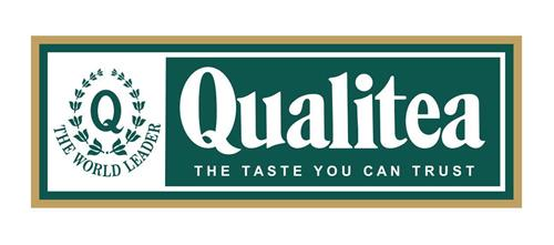THE WORLD LEADER Qualitea THE TASTE YOU CAN TRUST trademark